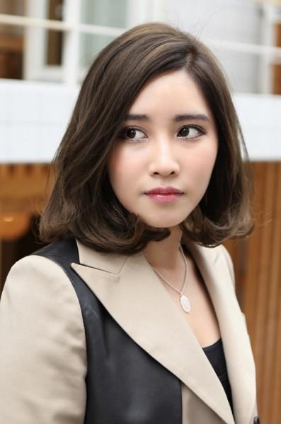 Asian Medium Long Hairstyles