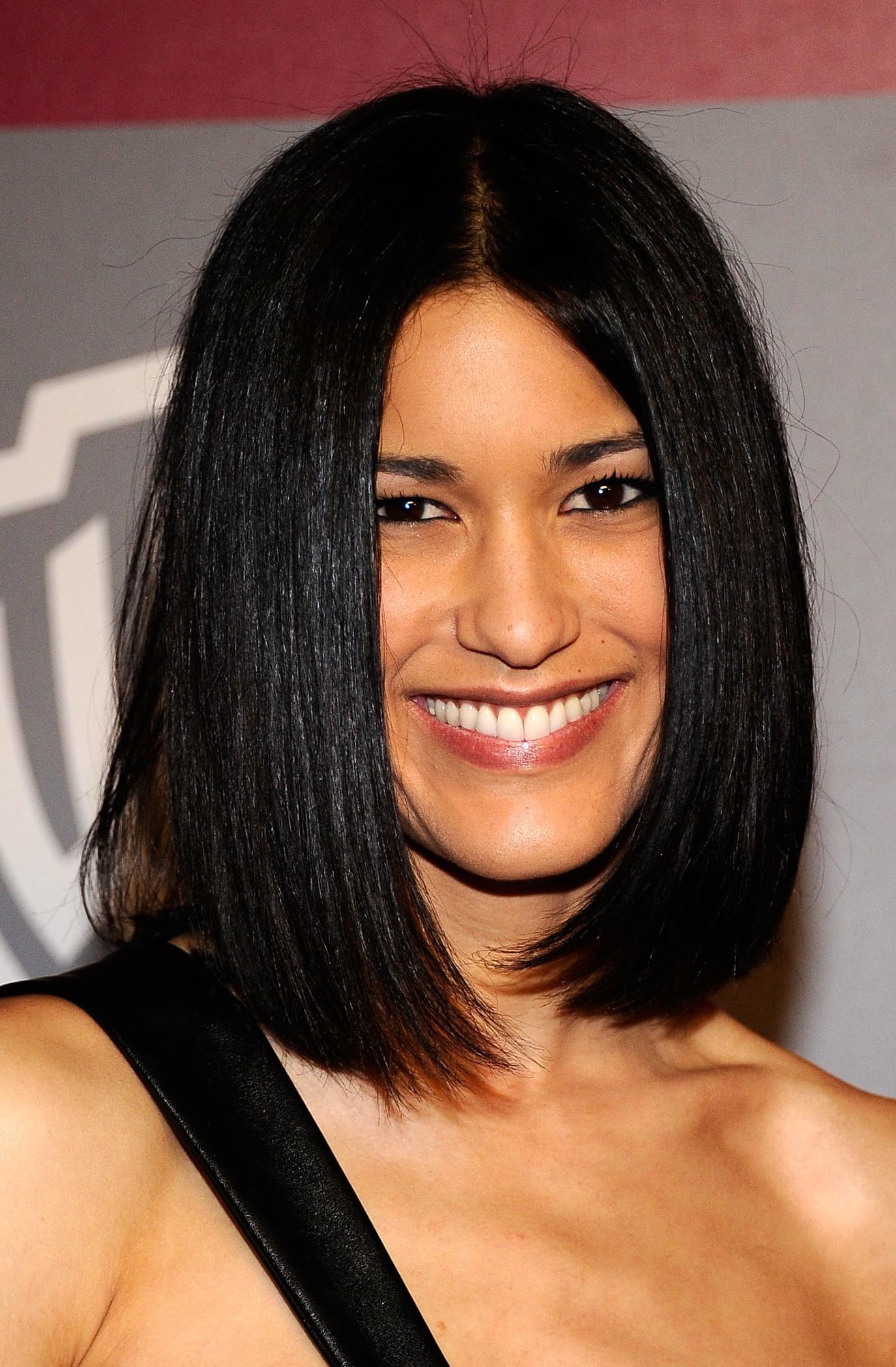 Black Medium Hairstyles For Straight Hair O Haircare