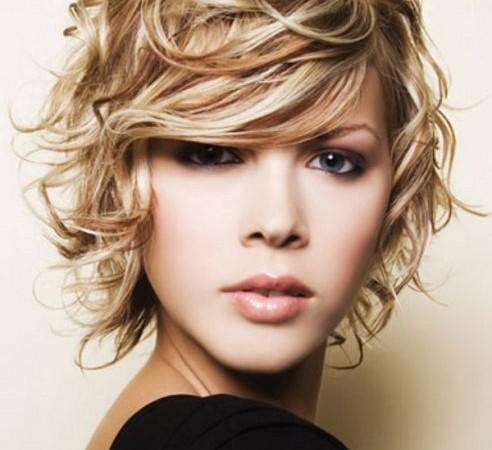 Women Short Curly Hairstyles 2013