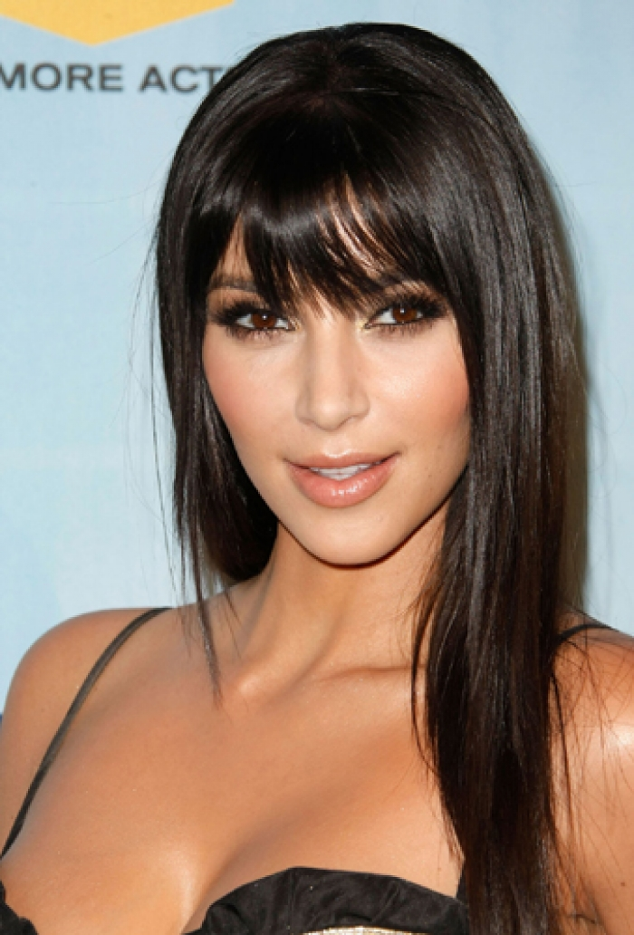 20 pictures of kim kardashian hairstyles celebrity