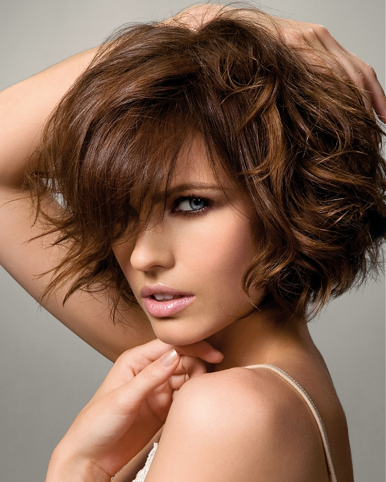 Beautiful Messy Hairstyle : Beautiful messy short hairstyles o haircare
