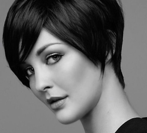 Black Short Hairstyles for Straight Hair