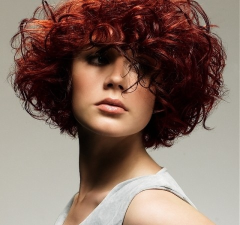 Pleasing Curly Hairstyles For Short Hair O Haircare Hairstyles For Women Draintrainus