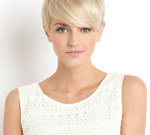 Cool White Short Haircuts Styles
