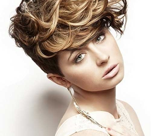 Curly Short Hairstyles Cool