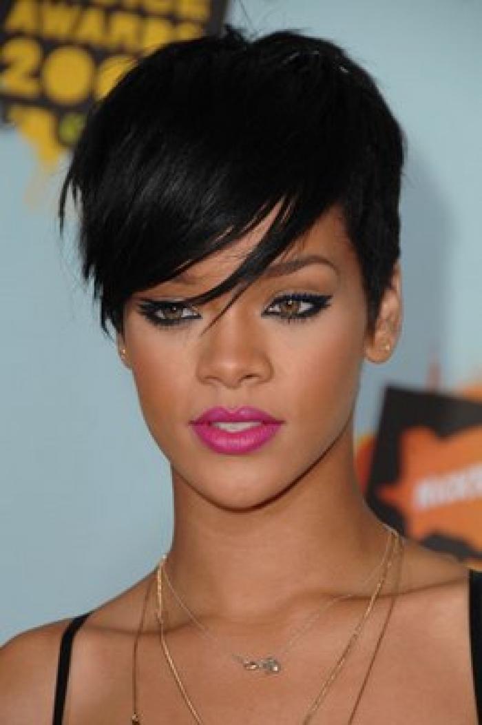 Rihanna Short Hairstyles Latest O Haircare