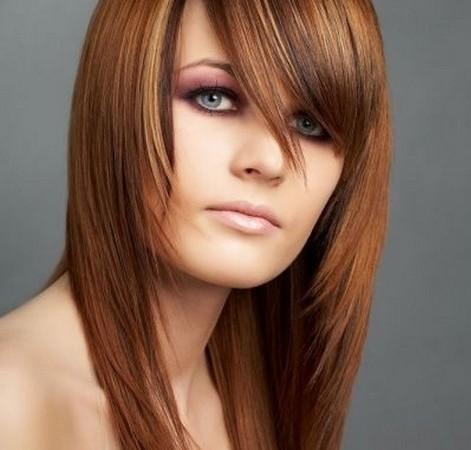 Skinny Long Straight Hairstyles