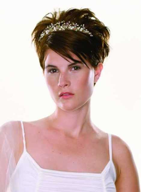 Tremendous Super Short Wedding Hairstyles O Haircare Hairstyles For Men Maxibearus