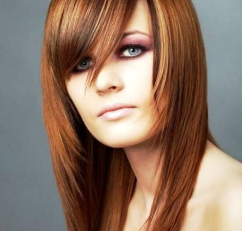 Trendy Straight Hairstyles for Women