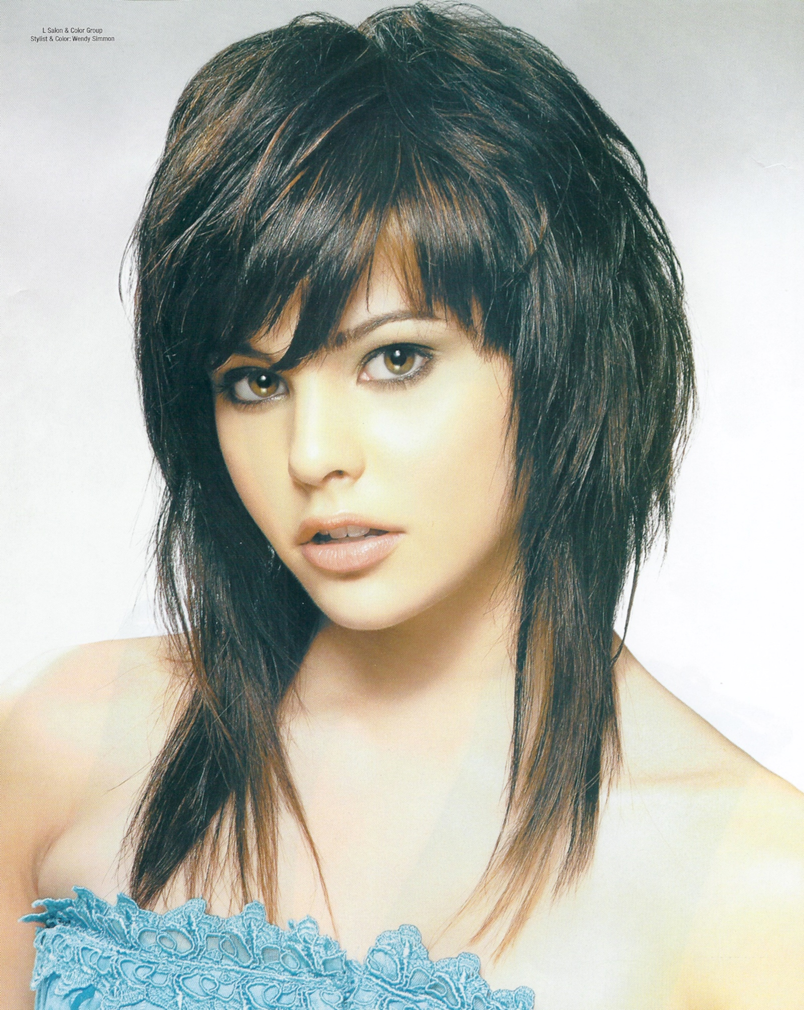 Asian Medium Thin Style Haircuts