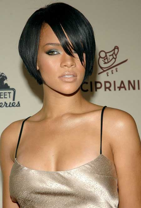 Black Celebrity with Short Hair 2014