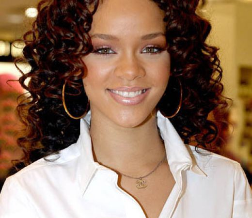 Curly Black Celebrity Hairstyles Ideas