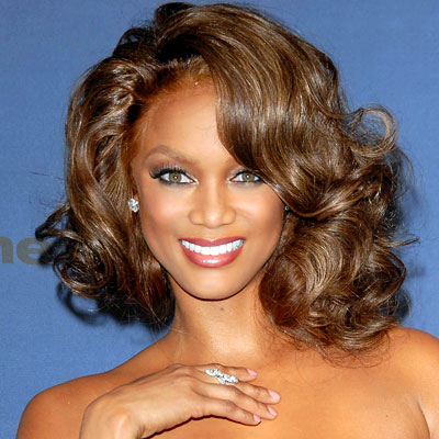 Medium Curly Black Celebrity Hairstyles