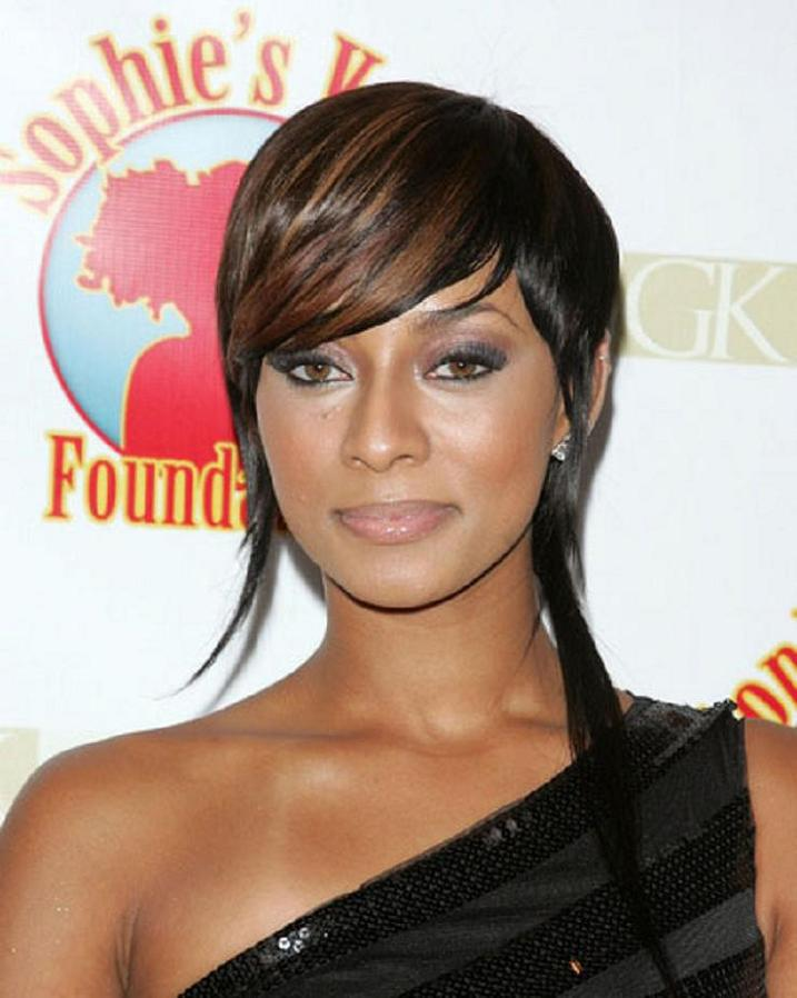 Medium Lenght Hairstyles for Black Celebrity