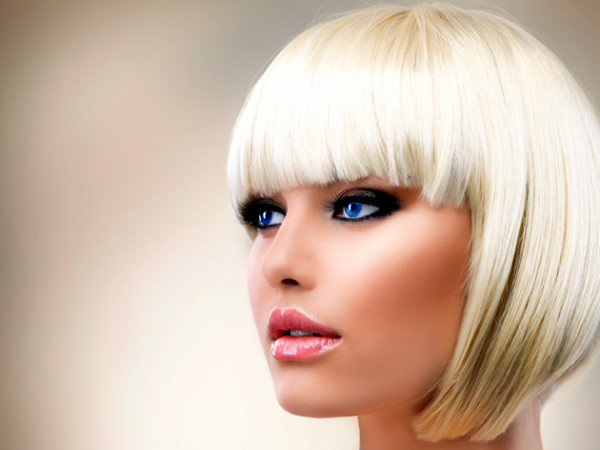 New Blonde Hairstyles with Bangs for 2014