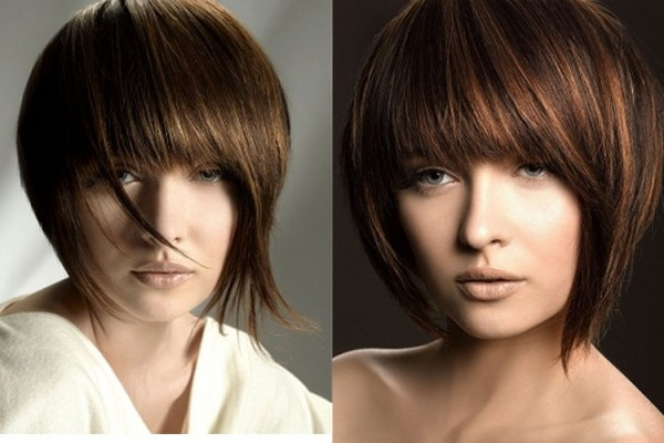 Short New Hairstyles for 2014 with Bangs