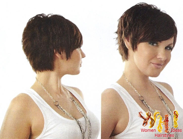 Peachy Short Hairstyles For Round Faces And Thick Hair O Haircare Short Hairstyles Gunalazisus