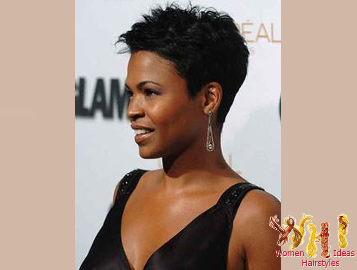 Astounding Short Hairstyles For Thick Wavy Hair O Haircare Short Hairstyles For Black Women Fulllsitofus