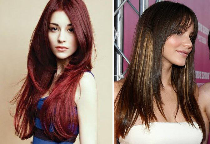 Haircut Cascade On Long Hair O Haircare
