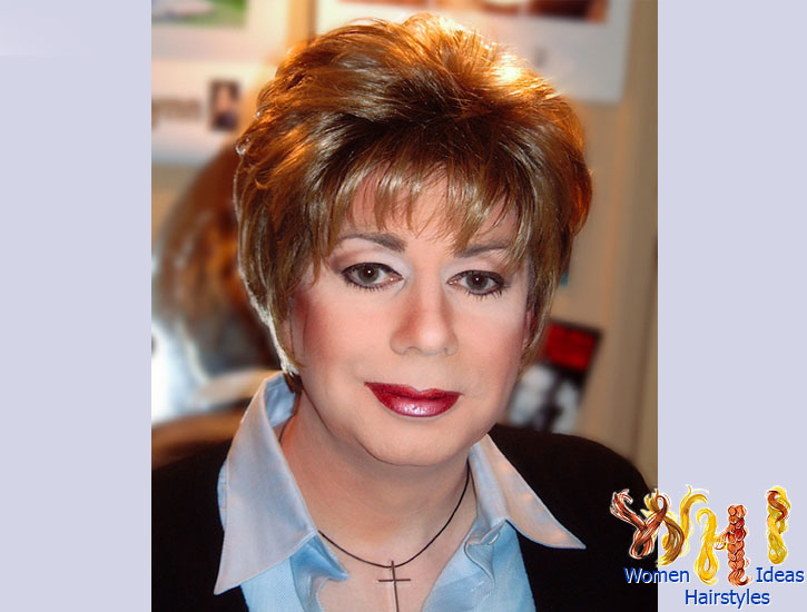 Short Haircuts For Women Over 60 With Thick Hair 71