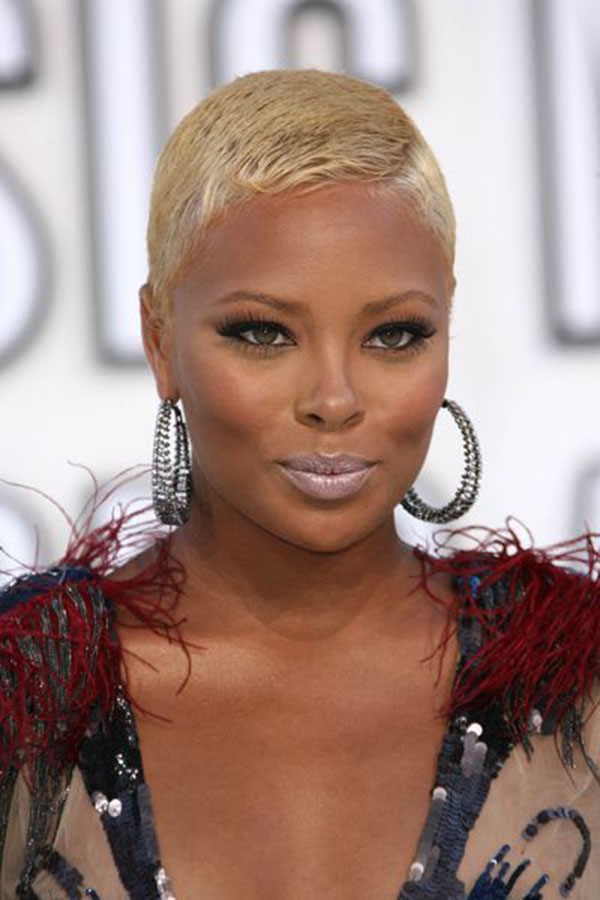 very short haircuts for black women